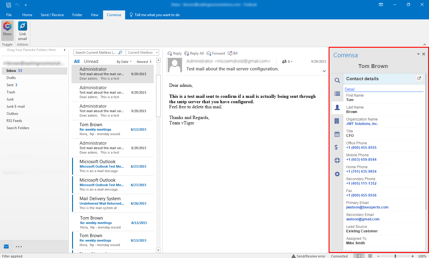 How to Install Outlook Plugin for VTiger -