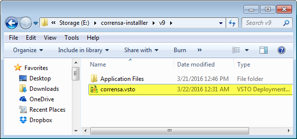 Outlook Plugin Installer - Folder